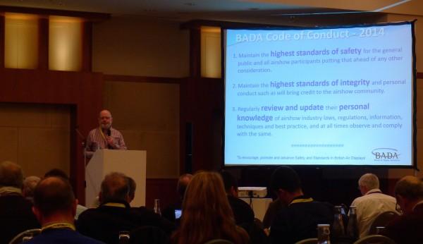 European Airshow Council Convention 2015 – BADA Update