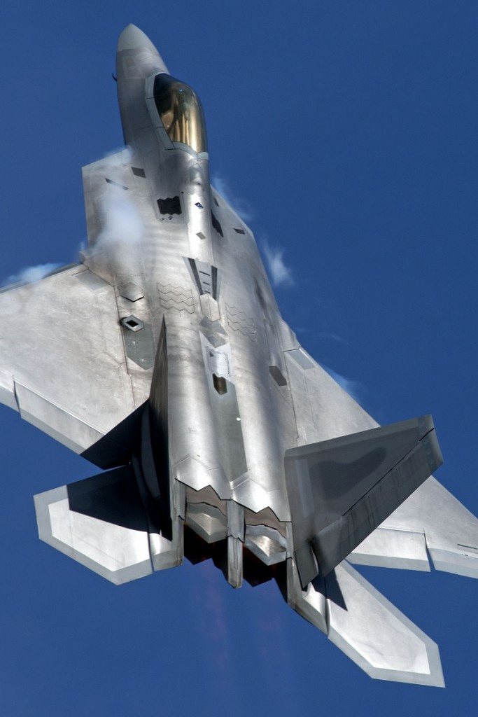 F-22 Raptor - Image via Royal International Air Tattoo