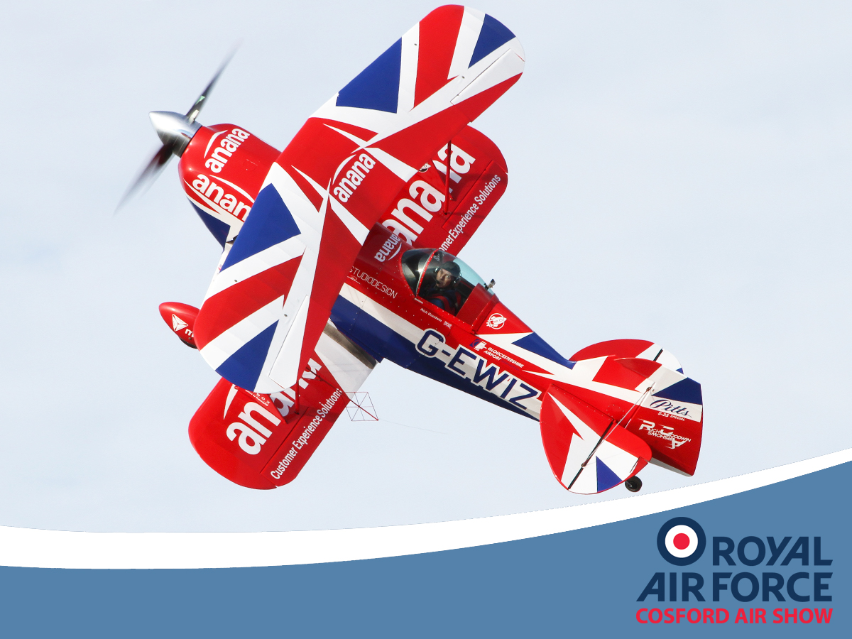 AIRSHOW NEWS: RAF Cosford Air Show tickets make ideal Christmas Present