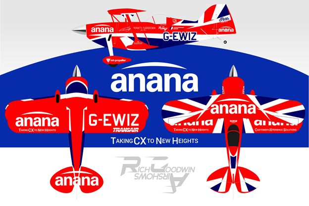 Rich Goodwin Airshows set to entertain and innovate with Anana, Pushing CX to new heights!