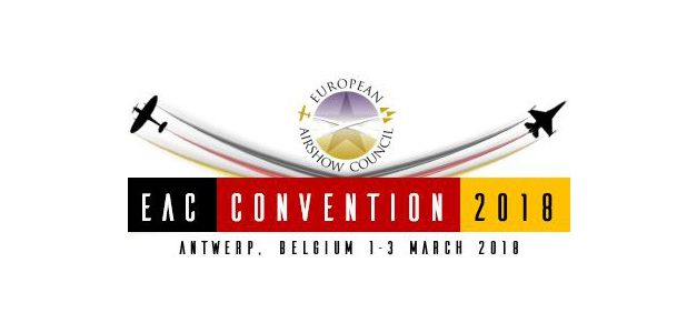 European Airshow Council Convention 2018 – 1st-3rd March, Antwerp, Belgium