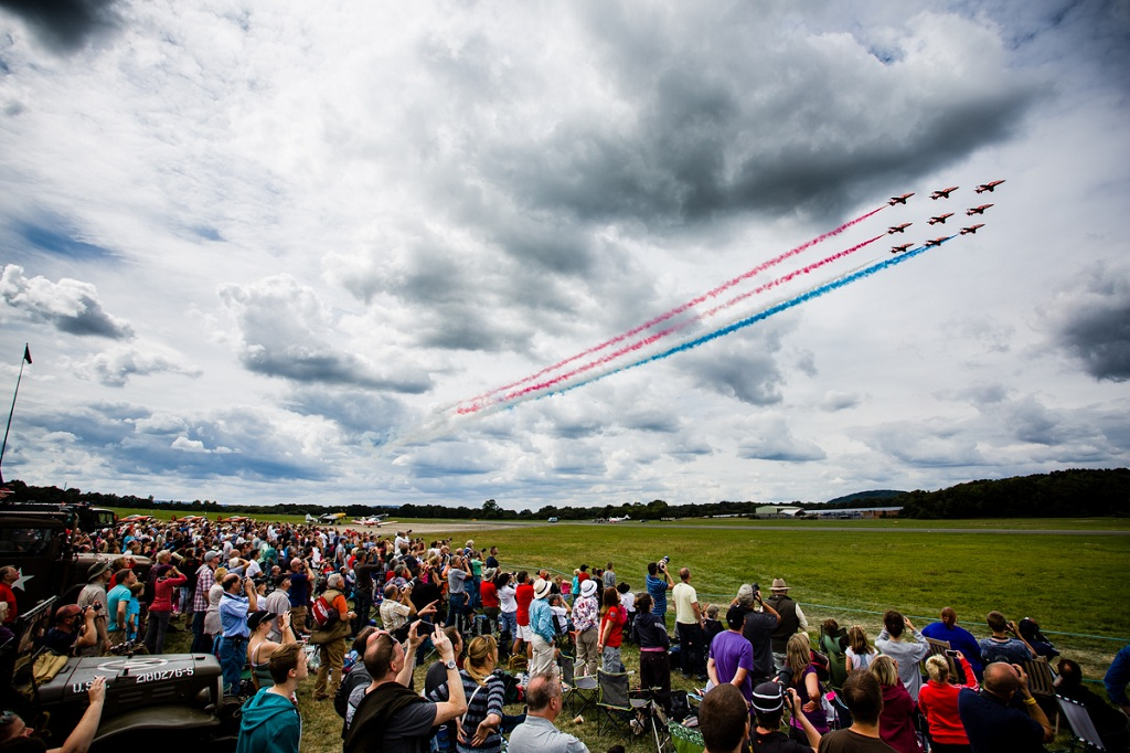 Dunsfold Wings and Wheels 2014 - Pic by Tony Hart
