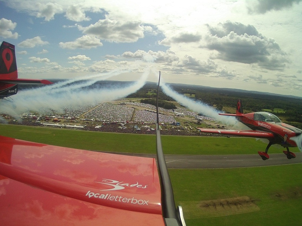 The Blades over Dunsfold Wings and Wheels
