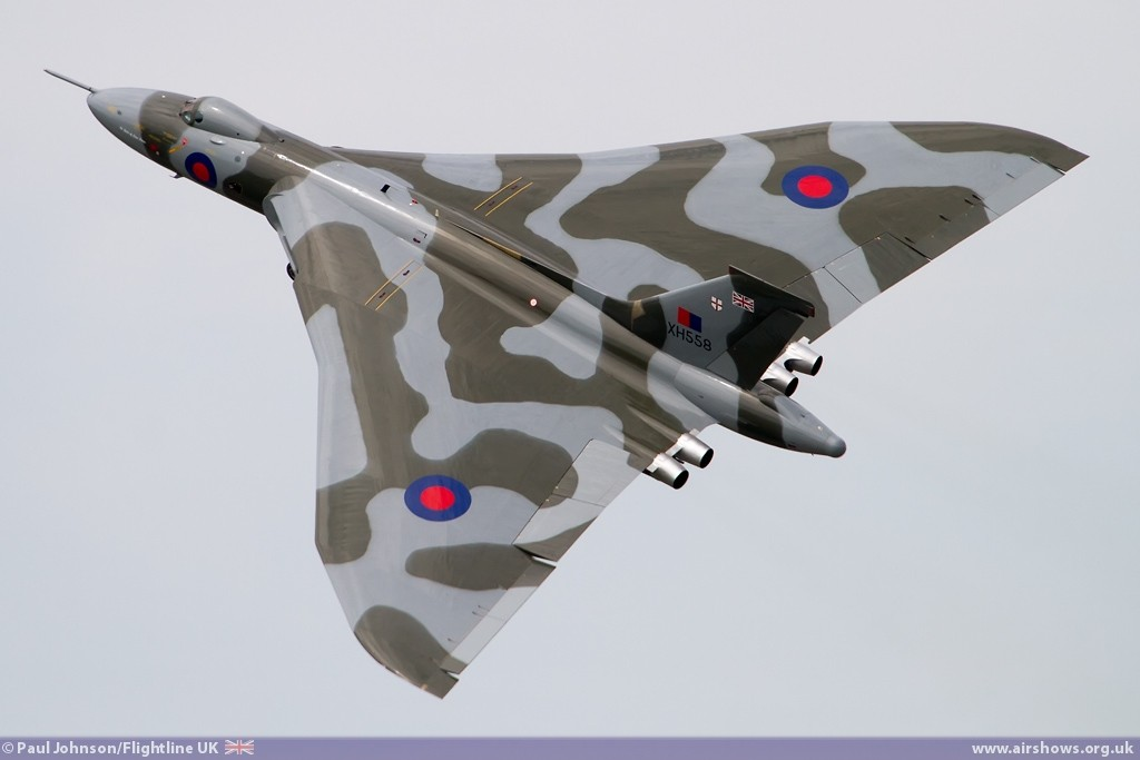 Avro Vulcan XH558 - Image © Paul Johnson