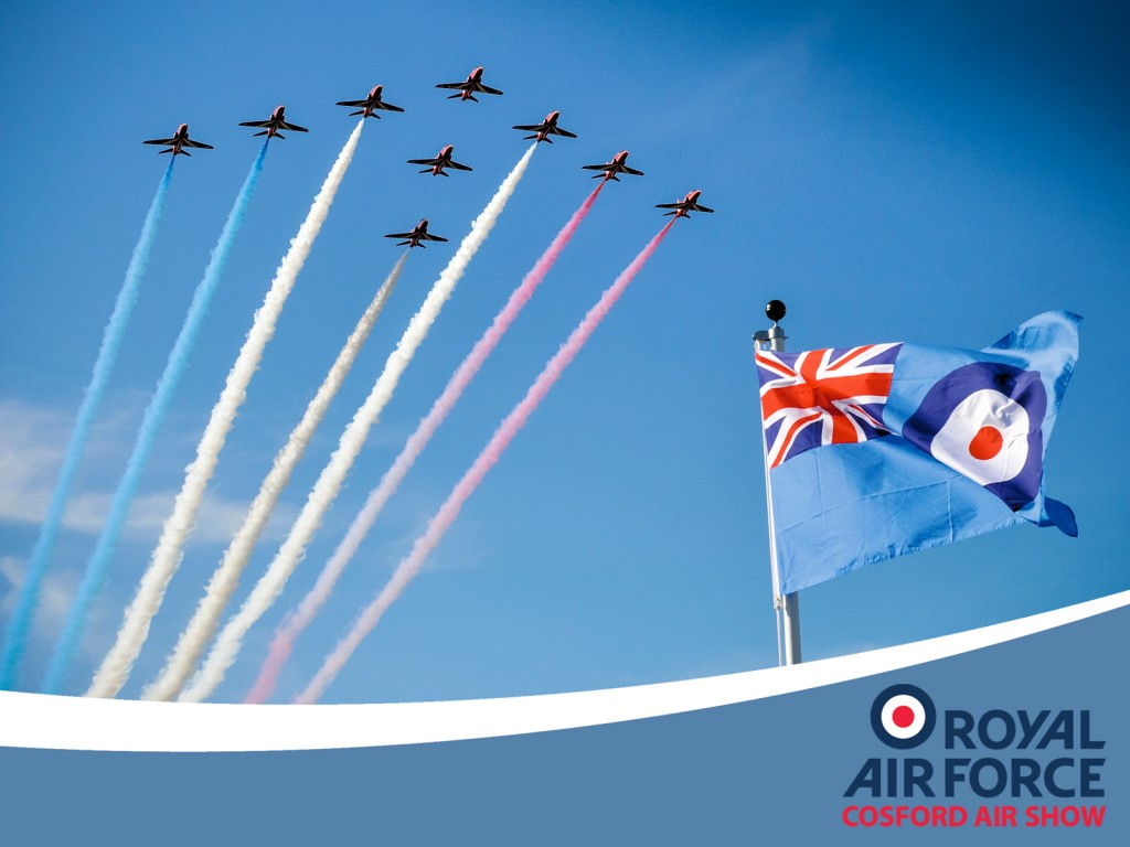 RAF Cosford Air Show 2016 - Image via BAE Systems