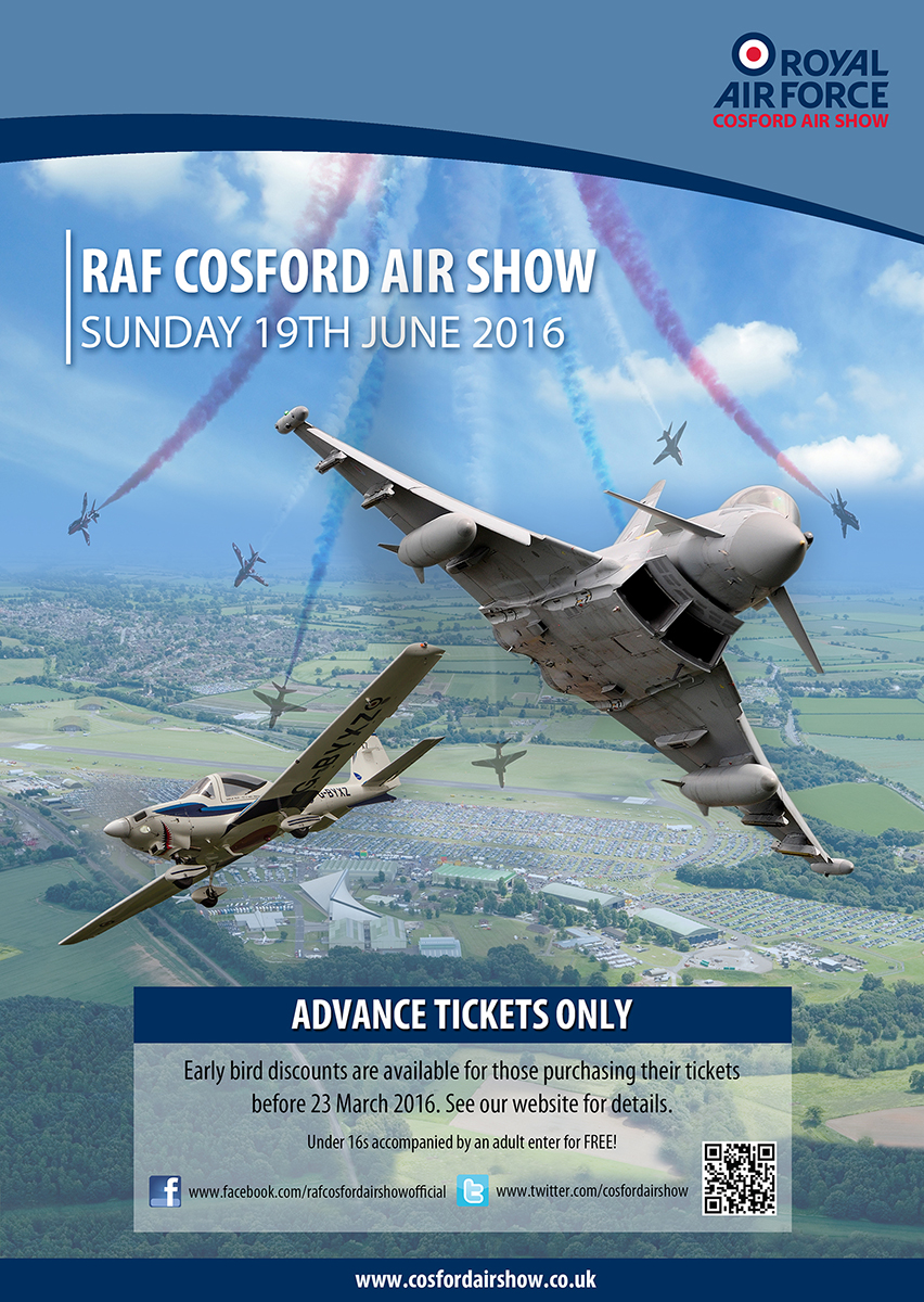 AIRSHOW NEWS: Speed, Training and Cadets set to pull the crowds at the RAF Cosford Air Show