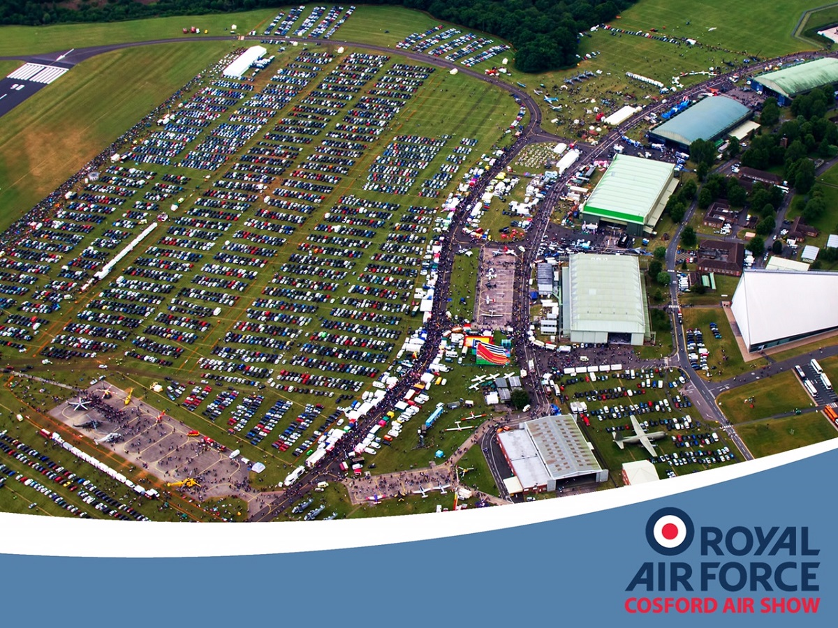 AIRSHOW NEWS: Final Preparations underway for a spectacular RAF Cosford Air Show