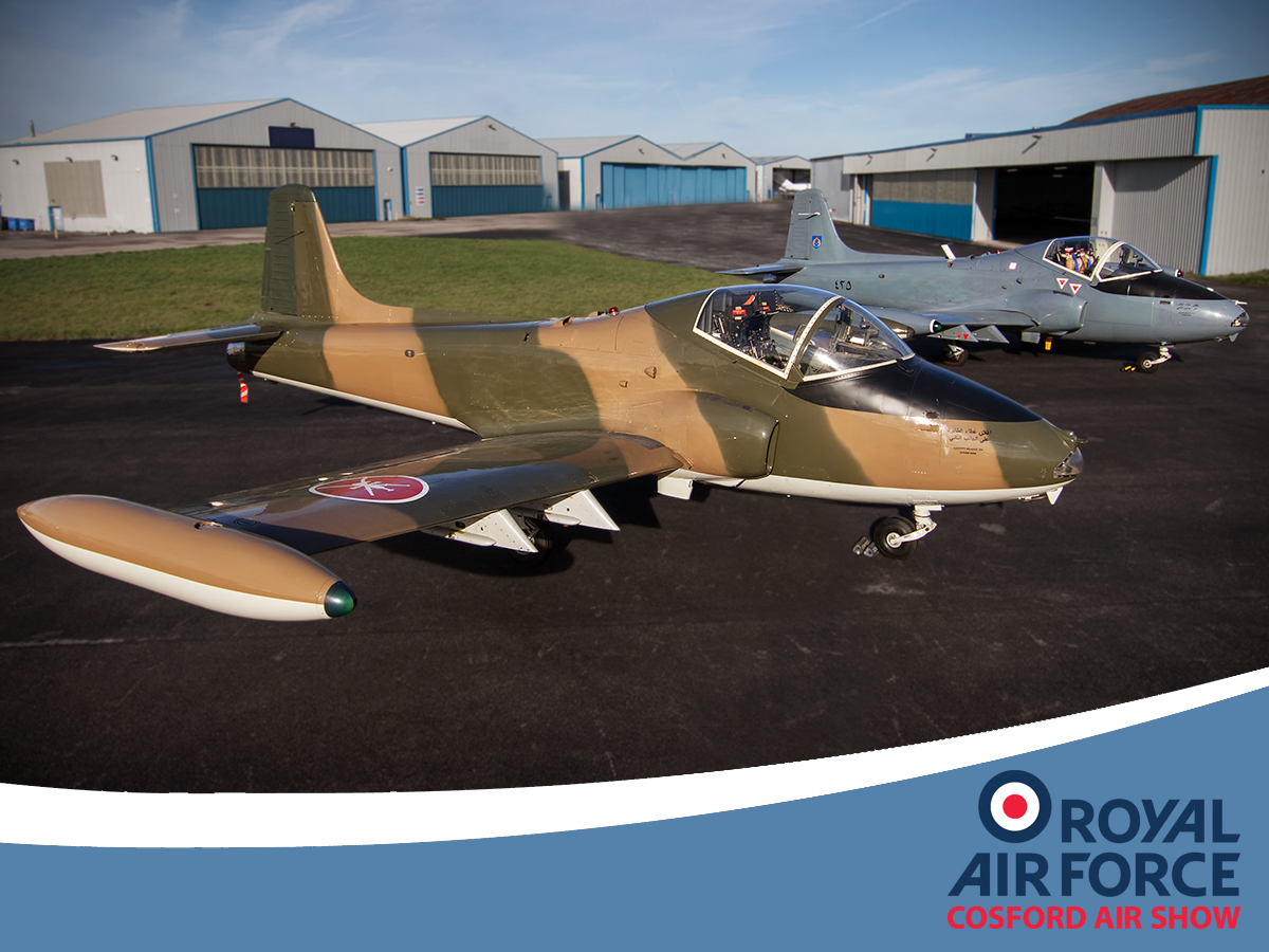 AIRSHOW NEWS: RAF Cosford Air Show 2017 Plans take off