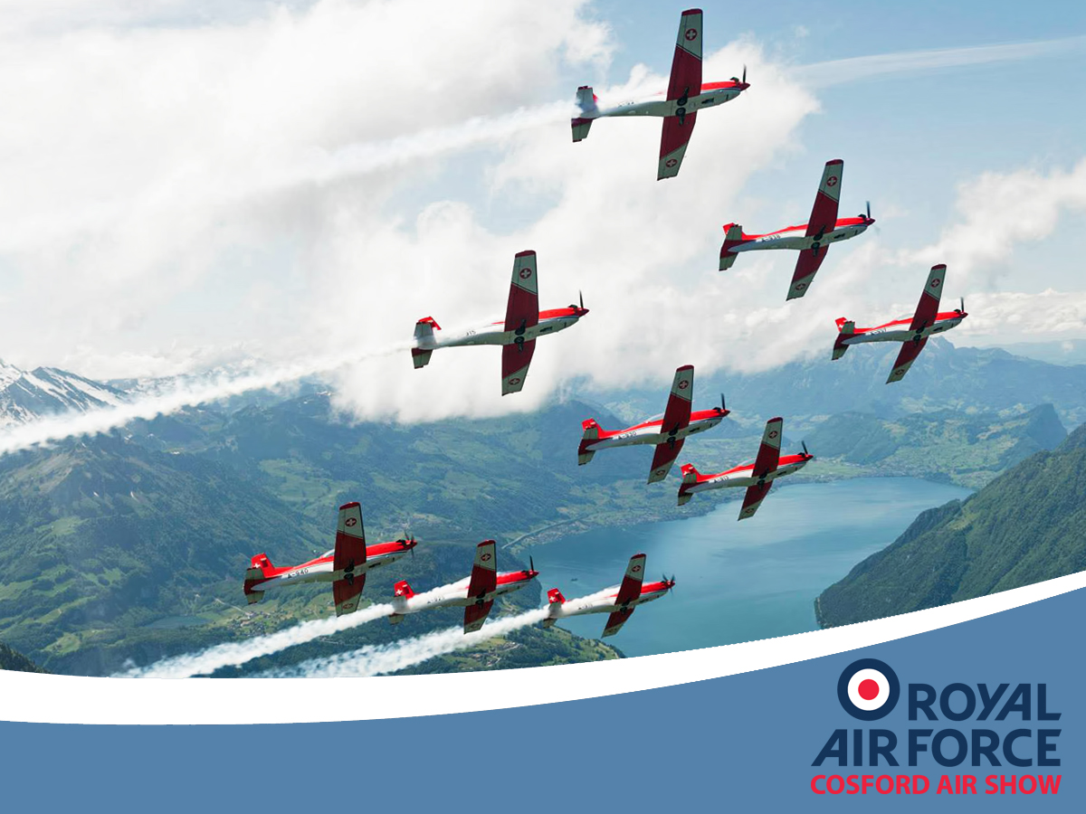 AIRSHOW NEWS: Swiss Display Team to wow crowds at RAF Cosford Air Show