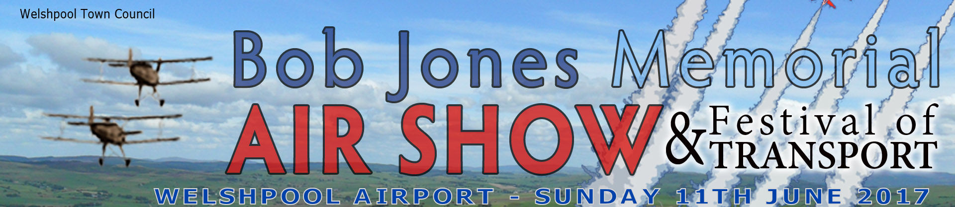 AIRSHOW NEWS: Welshpool Airshow – 11th June – a date for your diary!
