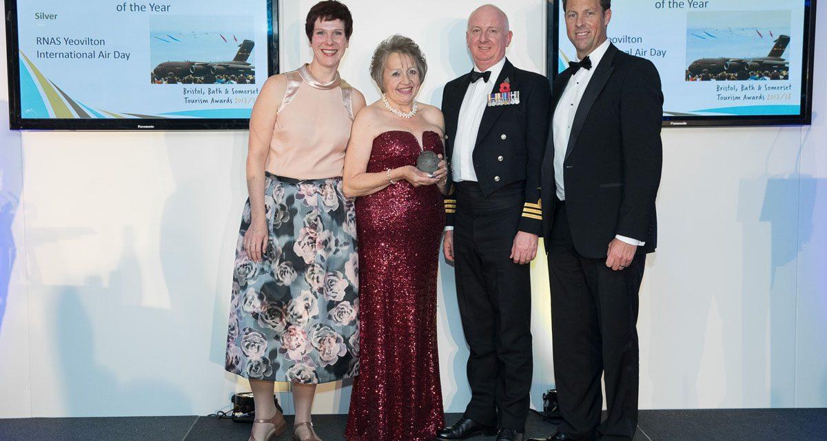 AIRSHOW NEWS: RNAS Yeovilton International Air Day wins Silver at Somerset Tourism Awards