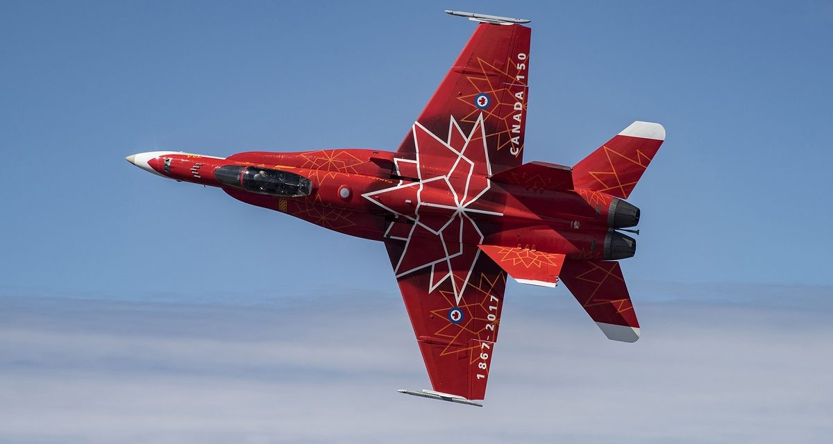 AIRSHOW NEWS: Royal Canadian Air Force CF-18 Demo Team to fly at RNAS Yeovilton International Air Day