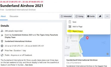 Facebook Scams targeting Air Displays