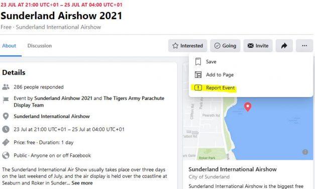 Facebook Scams targeting Air Displays